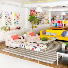 living room home office workspace. Oh Happy Day Studio Tour: Living Room. Love This For Creative Workspace + Home Room Office F