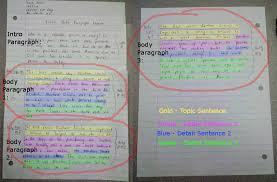 body paragraph exemplar colored cahsee essay examples