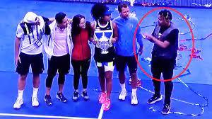 Who is cordae, naomi osaka's supportive. Us Open 2020 Naomi Osaka S Awkward Boyfriend Moment