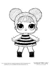 Lol Doll Coloring Pages Bumblebee Download