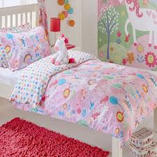 riva paoletti kids unicorn reversible duvet cover set pink double linens limited