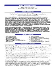 Director of Communications Resume Template | Premium Resume Samples &  Example