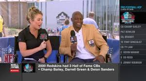 Hall Of Fame Corner Back Darrell Green Excited To See Little