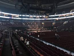 Wells Fargo Center Section 102 Concert Seating