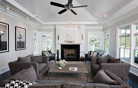 sofa style with white loveseat living room scheme decoration medium size electric fireplace colors modern living room beach house richmond charcoal
