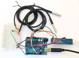 tweaking4all com arduino ethernet pushing data to a php server my arduino enc28j60 and 2x ds18b20 a wiring example