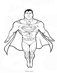 Select from premium superman of the highest quality. Superman Pictures To Color Coloring Home