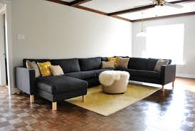assembling our ikea sectional sofa we