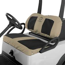 classic accessories fairway neoprene golf cart seat covers