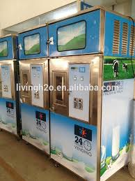 Milk In Vending Machines Gorgeous Automatic Coin Operated Milk Vending Machine With Refrigerator Buy