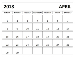 april 2018 word calendar calendar april 2018 in pdf word excel printable template