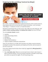 How To Cure Allergy On Skin — brad.erva-doce.info