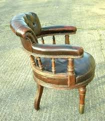 vintage leather chair retro leather desk chair full image for vintage red leather desk chair antique