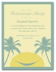 Retirement Celebration Invitation Template Printable Retirement Invitation Template
