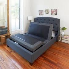 adjustable bed frame with massage. Delighful Bed Image Is Loading KingSizeElectricBedFramePowerAdjustableBase And Adjustable Bed Frame With Massage L