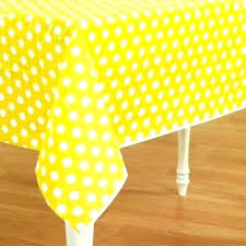 polka dot table covers party supplies plastic table covers my suppliers orange polka dot cloth large