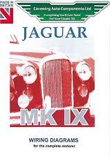 wiring diagram jaguar classic jaguar mk ix 9 exploded wiring diagram book 9175