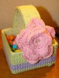 Crochet Easter Basket Pattern