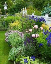 Small Picture This traditional English cutting garden is loaded with peonies