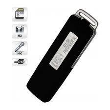 SES KAYIT CİHAZI USB FLASH BELLEK 8GB USB KAYDEDİCİ DİJİTAL MİNİ SES  KAYDEDİCİ PROFESYONEL SES KAYIT