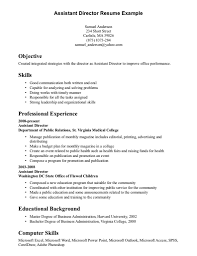 Skills And Abilities Resume Examples Cover Letter Resume Examples Skills And Abilities Resume Skills 1
