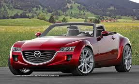 2014 Mazda MX-5 Miata and Alfa Romeo Spyder First Illustration and ...