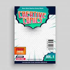free book covers design templates comic book cover template design vector free download