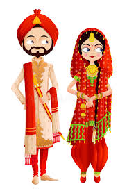 clipart wedding marathi clipart