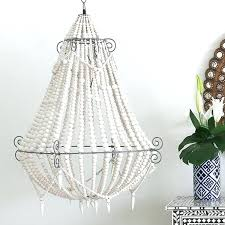 white bead chandelier white beaded chandelier white wood bead chandelier canada white milk bead chandelier