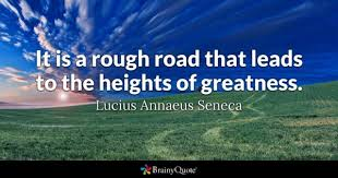 Road Quotes Custom Rough Road Quotes BrainyQuote