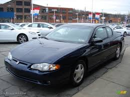 2001 Navy Blue Metallic Chevrolet Monte Carlo SS #58700799 Photo ...