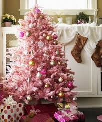 christmas trees decorated pink. Wonderful Trees Pink Holiday Trees Are The Best Thing To Happen This Season In Christmas Decorated Y