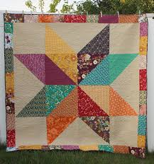 Fat Quarter Giant Star Quilt & The patterns and colors are so gorgeous together. Very outside of my usual  primary-color comfort zone, but I think that's what made me ... Adamdwight.com