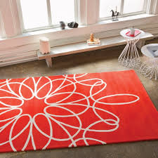adorable red and white area rug red and white area rug cievi home with regard to red and white area rug plan
