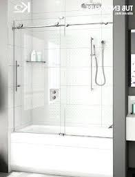 exotic frameless bathtub doors glass tub doors page bathroom makeovers for bathtub door inspirations kohler