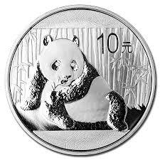 <b>Chinese</b> Silver <b>Panda 2015</b> - 1 oz