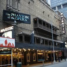 Majestic Theatre Seating Chart New York Phantom Of The