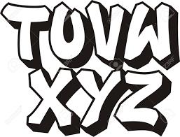 Graffiti Font Free Vector Graffiti Font Alphabet