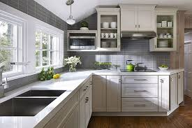 Kitchen Design Gray Cabinets