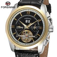 mens watch companies reviews online shopping mens watch fsg625m3t4 shipping new men automatic dress watch black genuine leather strap original gift box factory company