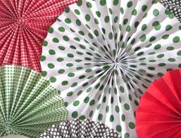how to make a paper fan. how to make paper fan rosette tutorial \u2013 medallion a i