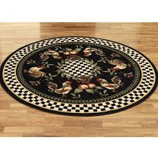 round rooster rugs rugs ideas round kitchen rugs