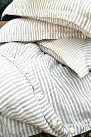striped bedding target gray and white striped bedding pinstriped linen duvet cover gray and white stripes