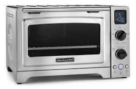 kitchenaid 6 slice stainless steel convection toaster oven