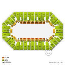 Freedom Hall Ky 2019 Seating Chart