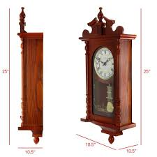 bedford clock collection 25 inch wall
