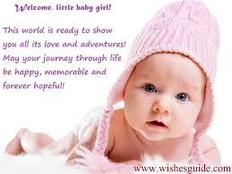107 Wishes For New Born Baby Girl Wishes Guide