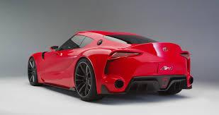 Small Blog V8: Toyota FT-1: The Real Supra Simulator