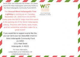tree lighting indianapolis. Happy Holidays 1 Wicf Part 2 Tree Lighting Indianapolis