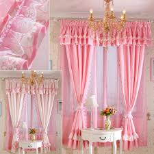 Beautiful Design Pink Curtains For Bedroom